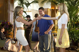 Jennifer Aniston, Adam Sandler, and Brooklyn Decker in Just Go with It