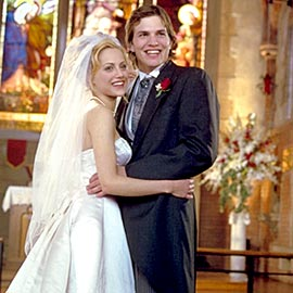 Brittany Murphy and Ashton Kutcher in Just Married