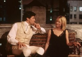 Hugh Jackman and Meg Ryan in Kate & Leopold