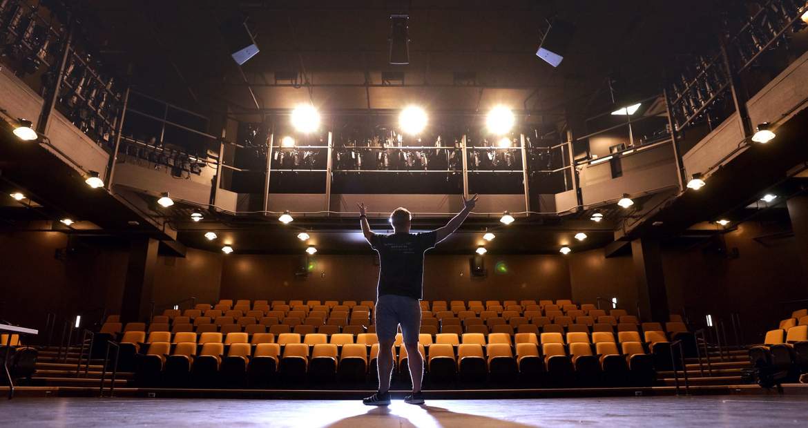 Keenan Odenkirk in the Brunner Theatre Center