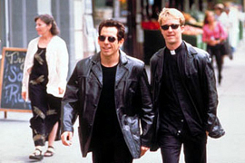 Ben Stiller and Edward Norton in Keeping the Faith