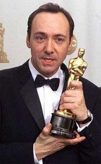 Best Actor winner Kevin Spacey