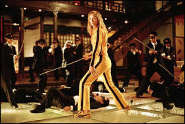 Uma Thurman in Kill Bill: Volume I