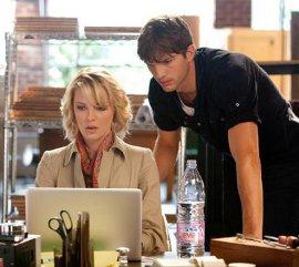 Katherine Heigl and Ashton Kutcher in Killers