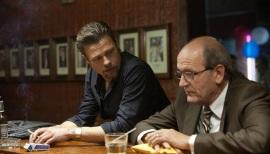 Brad Pitt and Richard Jenkins in Killing Them Softly