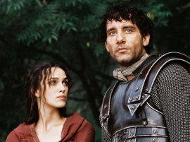 Keira Knightley and Clive Owen in King Arthur