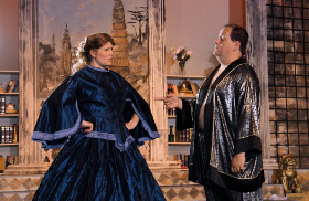Rochelle and Jonathan Schrader in The King & I