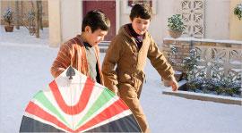 Ahmad Khan Mahmoodzada and Zekiria Ebrahimi in The Kite Runner