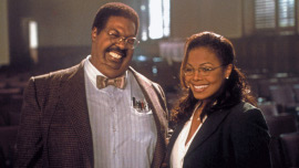 Eddie Murphy and Janet Jackson in Nutty Professor II: The Klumps