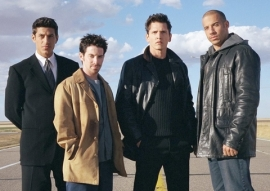 Andy Davoli, Seth Green, Barry Pepper, and Vin Diesel in Knockaround Guys