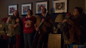 Toni Collette, Emjay Anthony, Allison Tolman, David Koechner, and Conchata Ferrell in Krampus