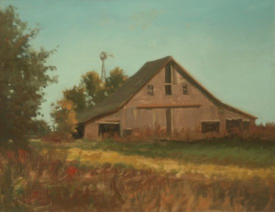 'Landscape (Grey Barn)' (1990)