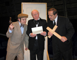 Alex Klimkewicz, David Rash, and Bill Hudson in Laughing Stock