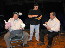 Don Hazen, Alex Klimkewicz, and Bill Hudson in Laughing Stock