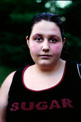 Lauren Greenfield, 'Amelia, 15, at a Weight-Loss Camp'