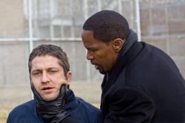 Gerard Butler and Jamie Foxx in Law-Abiding Citizen