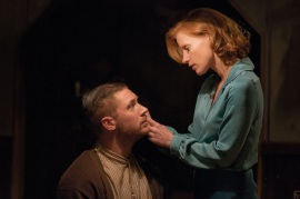 Tom Hardy and Jessica Chastain in Lawless