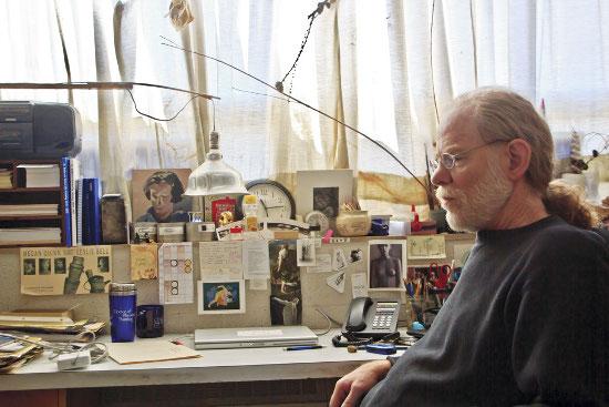 Leslie Bell in his office. Photo Corey Wieckhorst.
