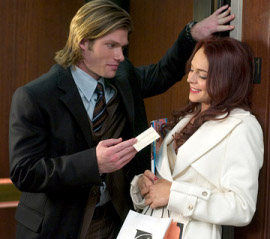 Chris Carmack and Lindsay Lohan in Just My Luck