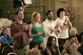 Greg Kinnear, Toni Collette, Steve Carell, and Paul Dano in Little Miss Sunshine