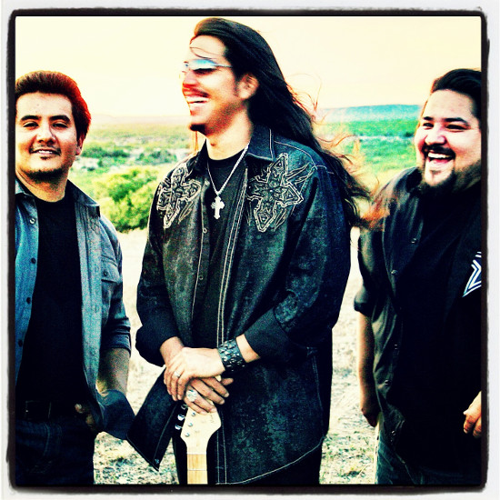 Los Lonely Boys. Photo by Gabriella McSwann.