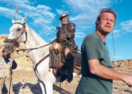 Jean Rochefort and Terry Gilliam in Lost in La Mancha