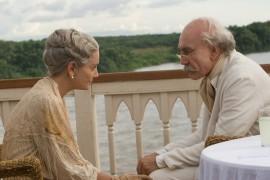 Giovanna Mezzogiorno and Javier Bardem in Love in the Time of Cholera