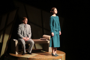 Kennan Odenkirk and Christine Broughton in Machinal