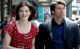 Michelle Monaghan and Patrick Dempsey in Made of Honor