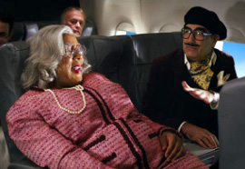 Tyler Perry and Eugene Levy in Tyler Perry's Madea's Witness Protection