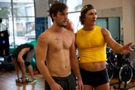 Alex Pettyfer and Matthew McConaughey in Magic Mike