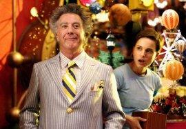 Dustin Hoffman and Natalie Portman in Mr. Magorium's Wonder Emporium