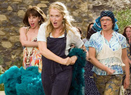 Christine Baranski, Meryl Streep, and Julie Walters in Mamma Mia!