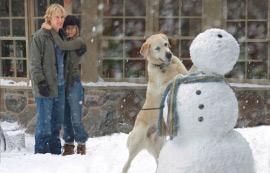 Owen Wilson and Jennifer Aniston in Marley & Me