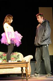 Jessica Denney and Dana Moss-Peterson in Mr. Marmalade