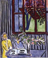 Henri Matisse - 'Blue Interior with Two Girls'