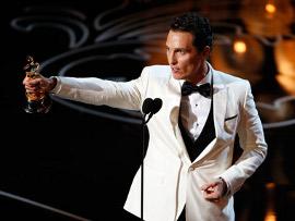 Best Actor Matthew McConaughey