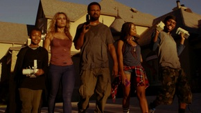 Alex Henderson, Zulay Henao, Mike Epps, Bresha Webb, and Lil Duval in Meet the Blacks
