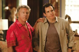 Dustin Hoffman and Ben Stiller in Meet the Fockers