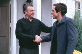 Robert De Niro and Ben Stiller in Meet the Parents