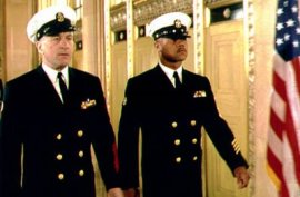 Robert De Niro and Cuba Gooding Jr. in Men of Honor