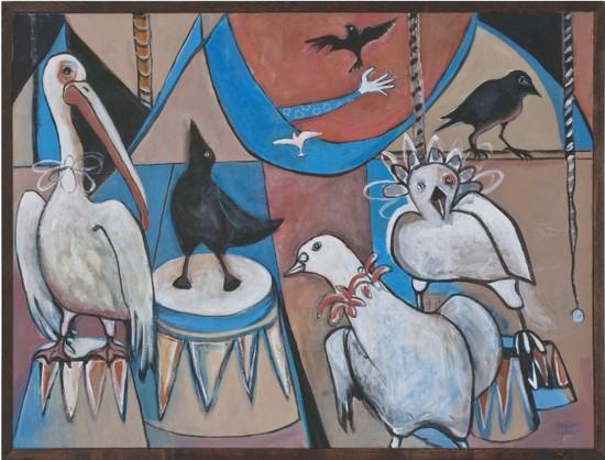Teresa Mesich, 'Bird Circus'