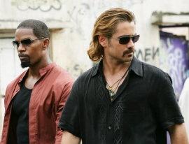 Jamie Foxx and Colin Farrell in Miami Vice