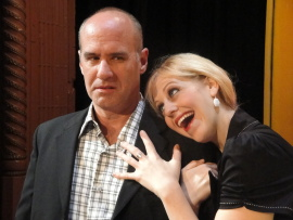 Brad Hauskins and Jessica Swersey in Mid-Life! The Crisis Musical