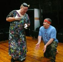 John VanDeWoestyne and Bruce Carmen in Greater Tuna
