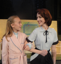 Laila Haley and Erin Churchill in Miracle on 34th Street