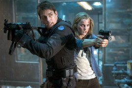 Tom Cruise and Keri Russell in Mission: Impossible III