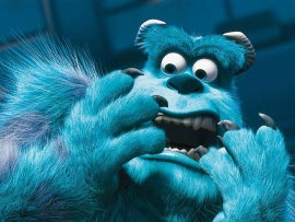 Sulley in Monsters, Inc.