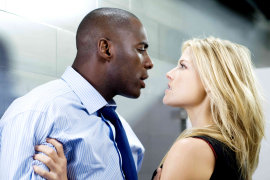 Idris Elba and Ali Larter in Obsessed