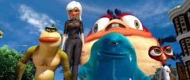 Monsters vs. Aliens' monsters